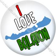 I Love Balaton kitűző