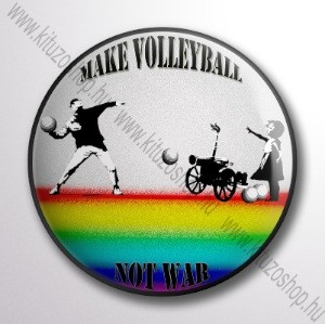 Make Volleyball Not War