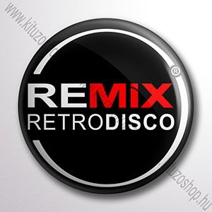 Remix RetroDisco kitűző